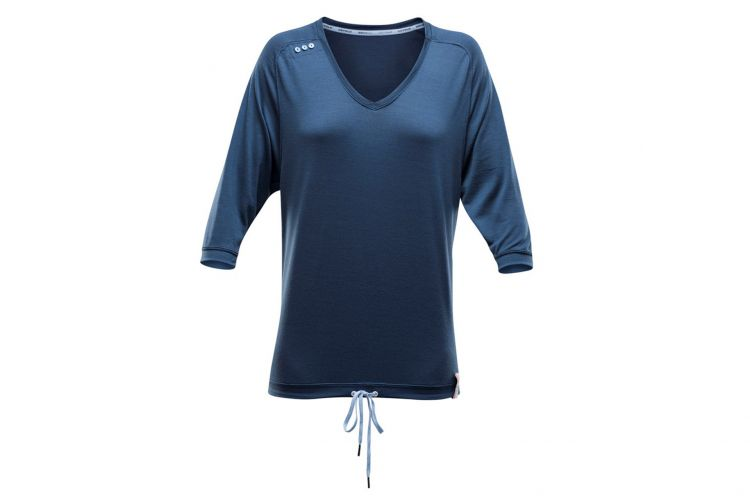 "DEVOLD Lifestyle Aspoy Woman, Modell ""3/4 Sleeve"" Night"