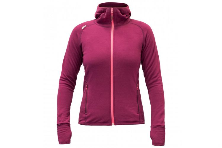 "Devold Lifestyle Woman, Modell ""Jacke Nibba"" Plum"