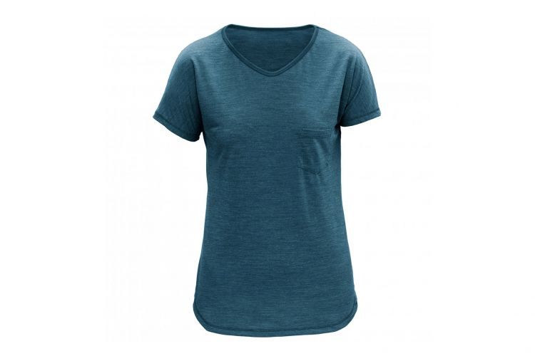 "Devold Lifestyle Woman, Modell ""T-Shirt HERDAL"" Subsea"