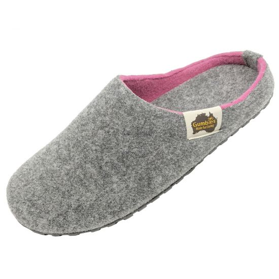 "GUMBIES Hausschuhe ""Outback Slipper"" Grey & Pink"