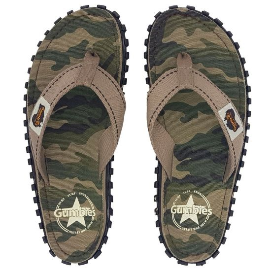 "GUMBIES ""Australian Summer Shoes"" Camouflage"