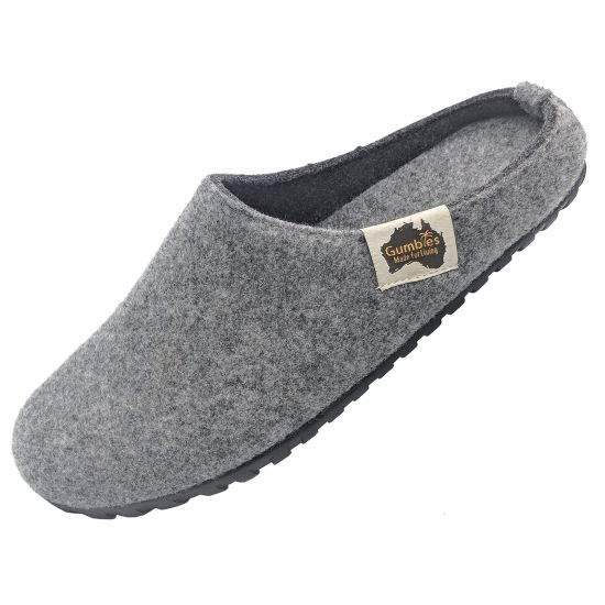 "GUMBIES Hausschuhe ""Outback Slipper"" Grey & Charcoal"