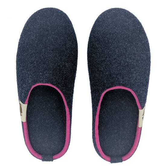 "GUMBIES Modell ""Outback Slipper"" Navy & Pink"