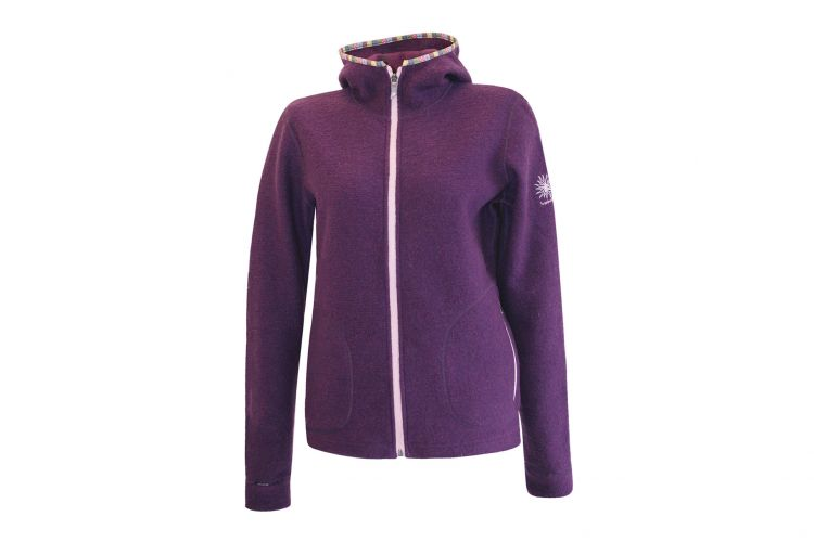 "Damenjacke von IVANHOE, Modell ""Lottie Hood"" Dark Purple"