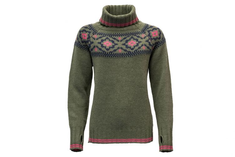 "Devold Mid-Layer Woman, Modell ""Ona Round"" Lichen"