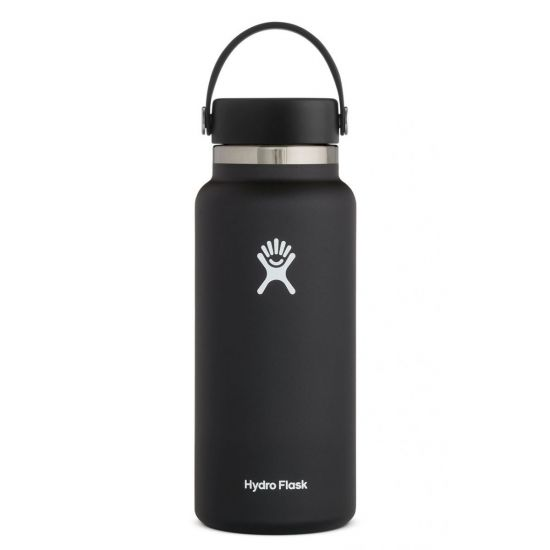 Hydro Flask Wide Mouth Isolierflasche 32 OZ (946ml) black