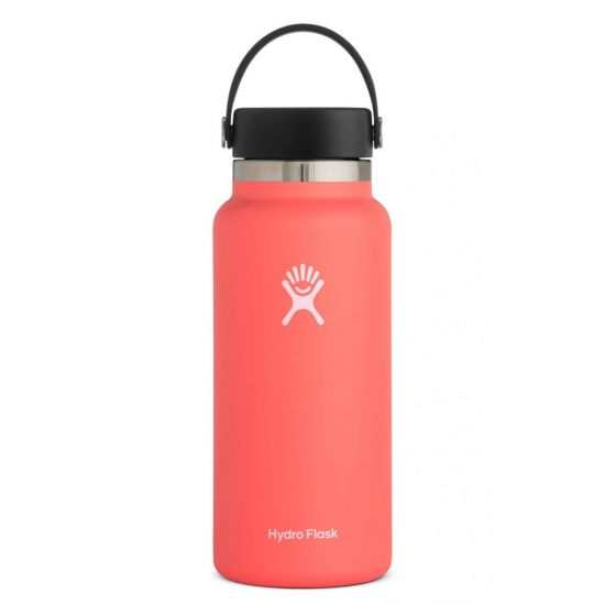Hydro Flask Wide Mouth Isolierflasche 32 OZ (946ml) hibiscus