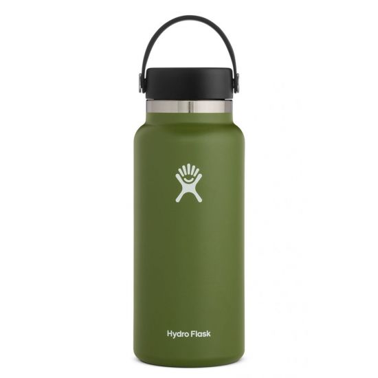 Hydro Flask Wide Mouth Isolierflasche 32 OZ (946ml) olive