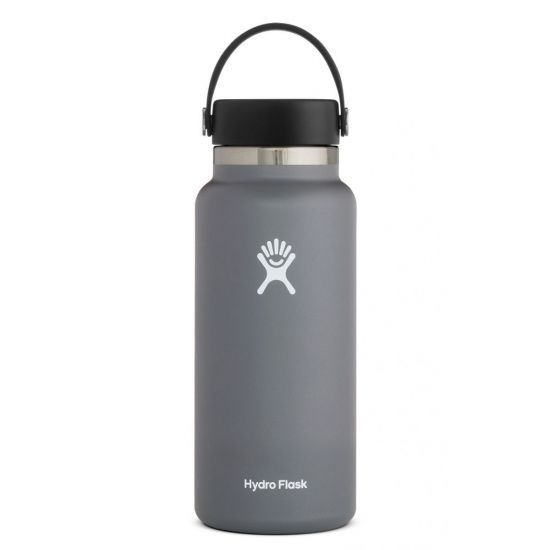 Hydro Flask Wide Mouth Isolierflasche 32 OZ (946ml) stone