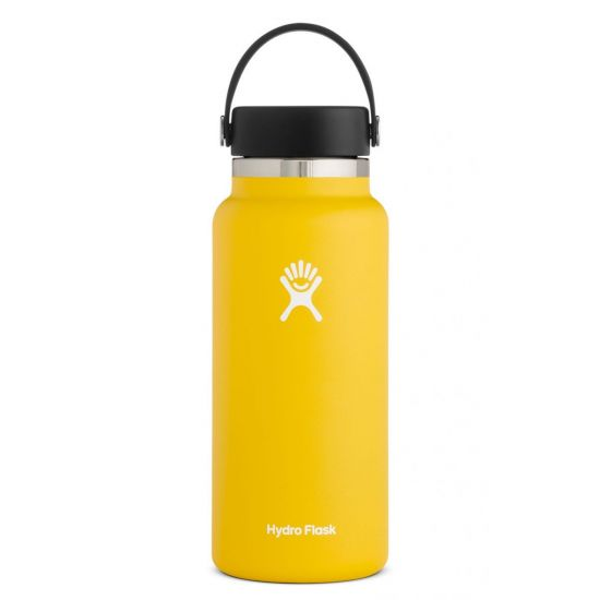 Hydro Flask Wide Mouth Isolierflasche 32 OZ (946ml) sunflower