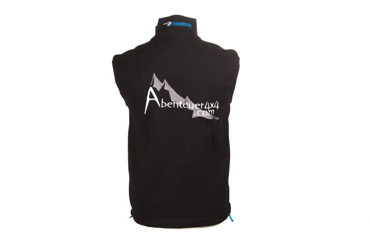 "Herrenweste ""Team"" von IVANHOE, Modell ""Assar Vest"" Black"