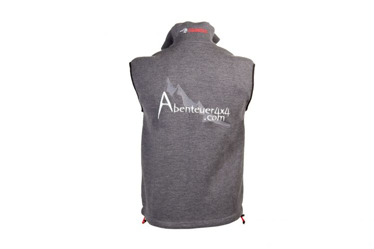 "Herrenweste ""Team"" von IVANHOE, Modell ""Assar Vest"" Grey"