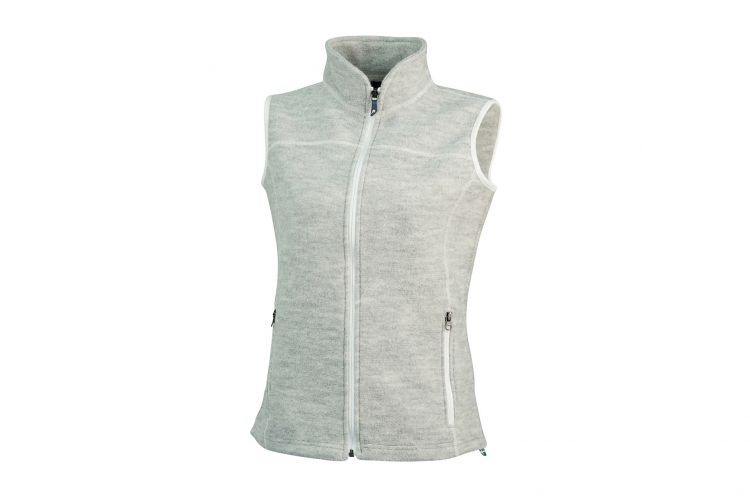 "Damenweste von IVANHOE, Modell ""Beata Vest"" Light Grey"