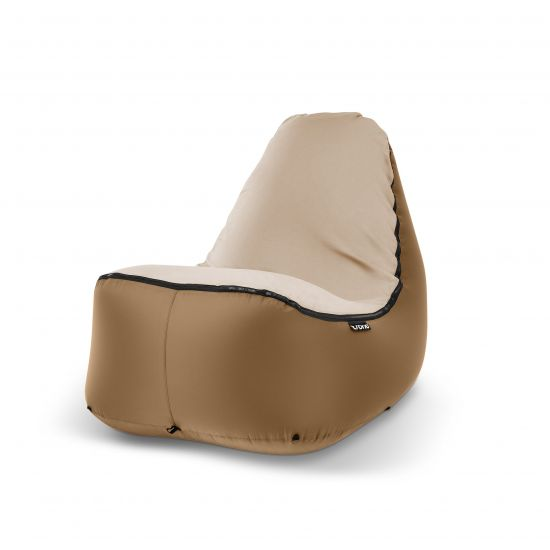 "TRONO Campingstuhl ""Inflatable Chair"" bronze"
