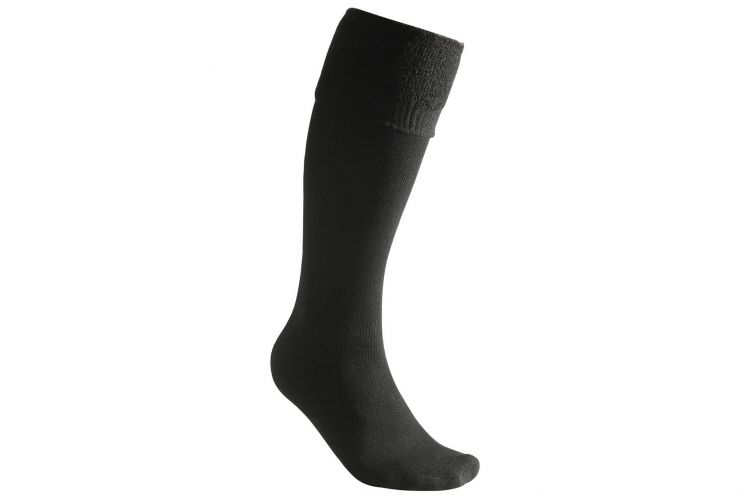 "WOOLPOWER Socke, Modell ""Socks 400 Knee-High"" Black"