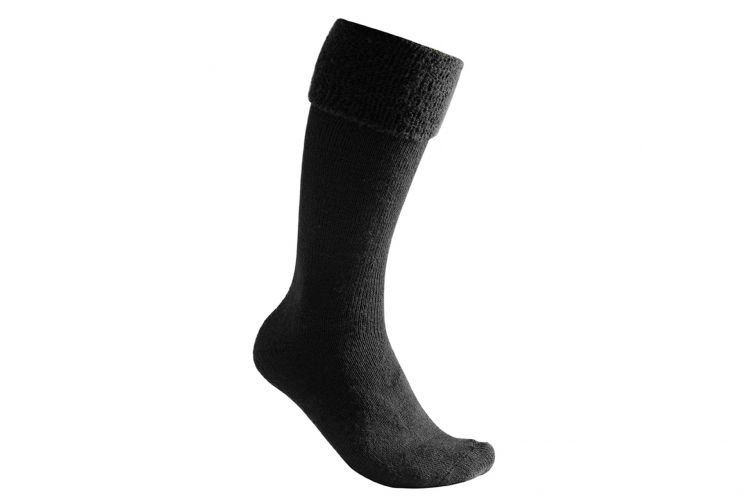"WOOLPOWER Socke, Modell ""Socks 600 Knee-High"" Black"