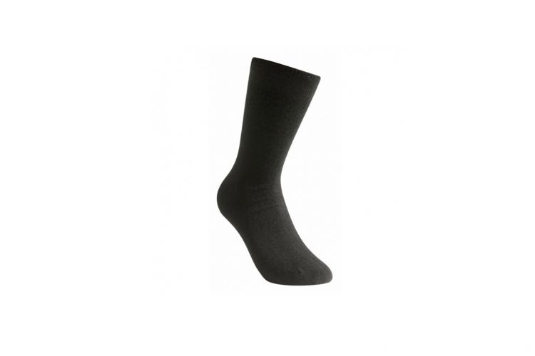 "WOOLPOWER Socke, Modell ""Lite Socks"" Black"