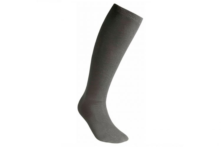 "WOOLPOWER Socke, Modell ""Liner Socks Classic Knee High"" Grey"
