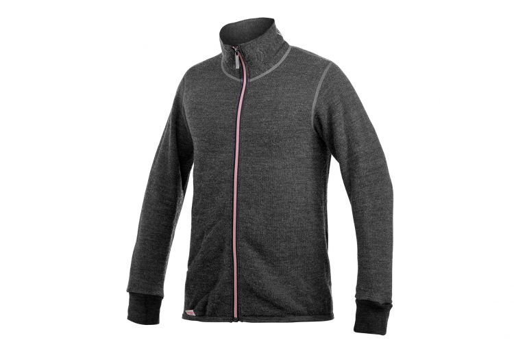 "WOOLPOWER Jacke, Modell ""Jacket 400 Colour"" Grey Rose"