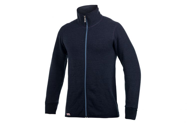 "WOOLPOWER Jacke, Modell ""Jacket 400 Colour"" Nordic Blue"