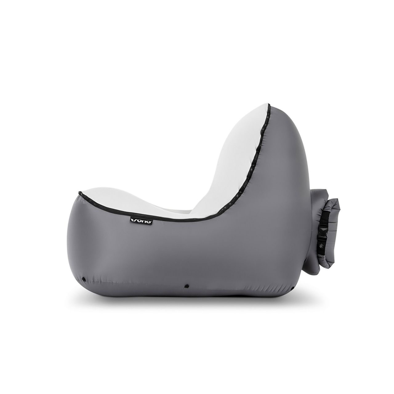 "TRONO Campingstuhl ""Inflatable Chair"" grey"